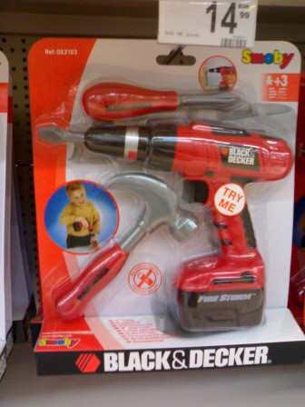 Black & decker miniature